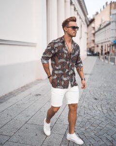 Moda masculina, tênis branco - S.O.S Pedro