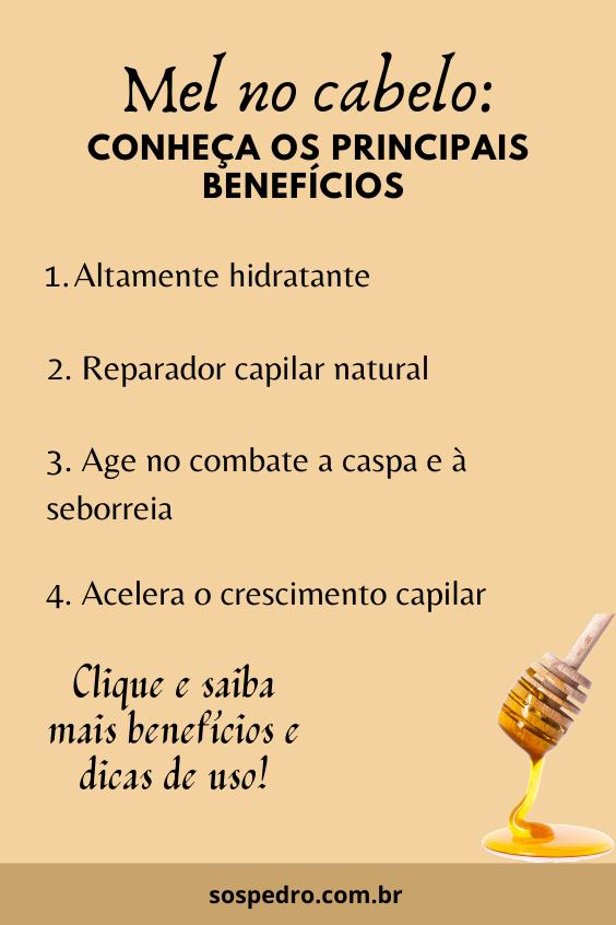 Blog S.O.S Pedro-  Como usar mel no cabelo