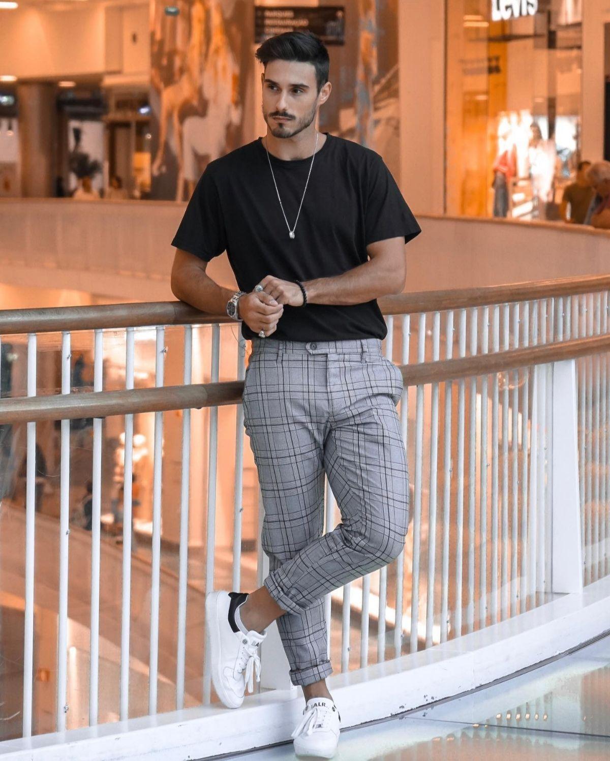 Calças masculinas modelos que estão em alta