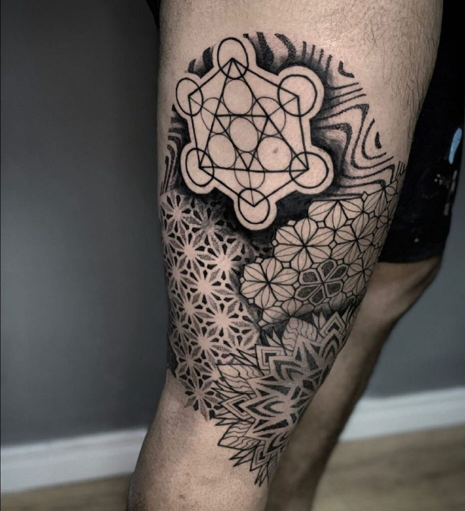 tatuagem geometrica masculina , tatuagem masculina