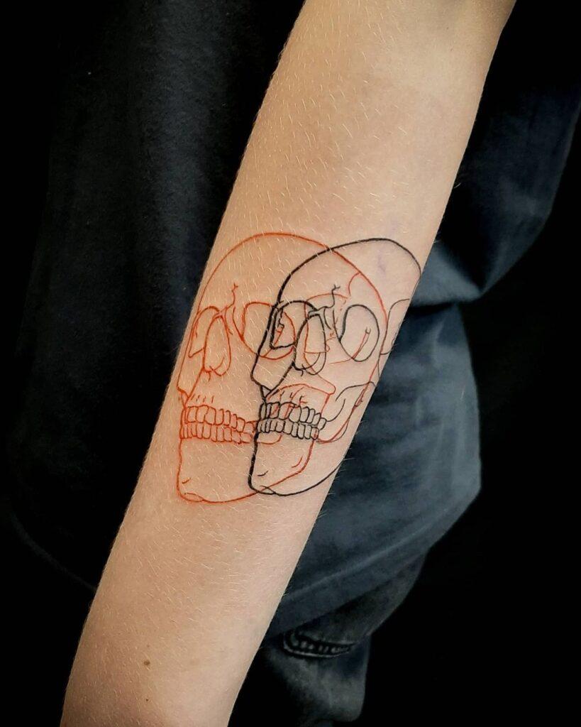 tatuagens de crânio